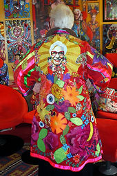 Sue Kreitzman colour portrait kimono