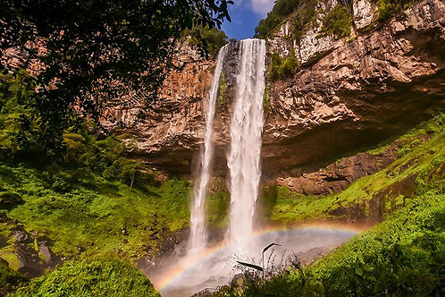 Cascata do Caracol (Tour c/ Guia local)