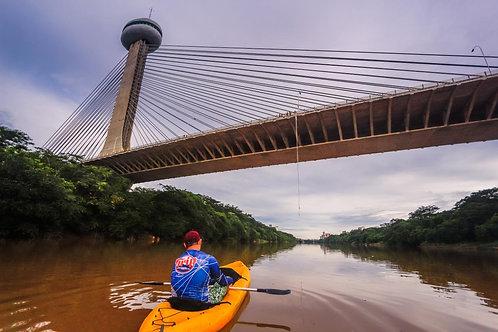 Remada no Rio Poty