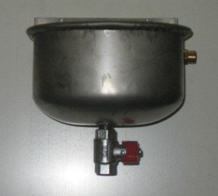Abbeveratoio automatico con valvola di scarico 1,5L