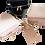 Thumbnail: Saffiano Leather Luggage Tags