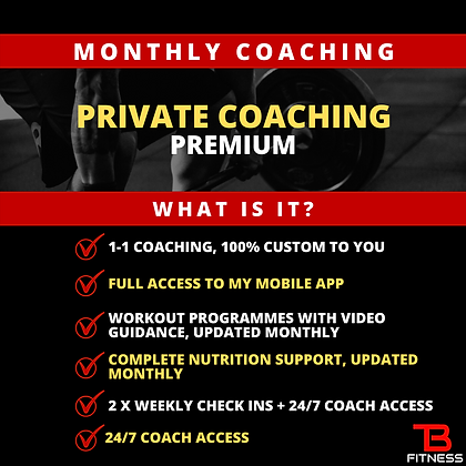 Monthly Coaching Premium