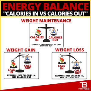 energy balance calories in vs calories out
