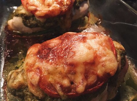 Mozzarella, Tomato & Pesto Chicken