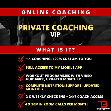 Monthly Coaching VIP