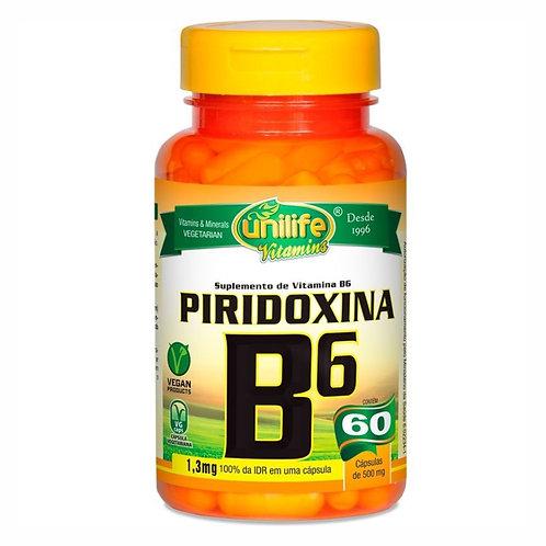 Piridoxina B6 Unilife