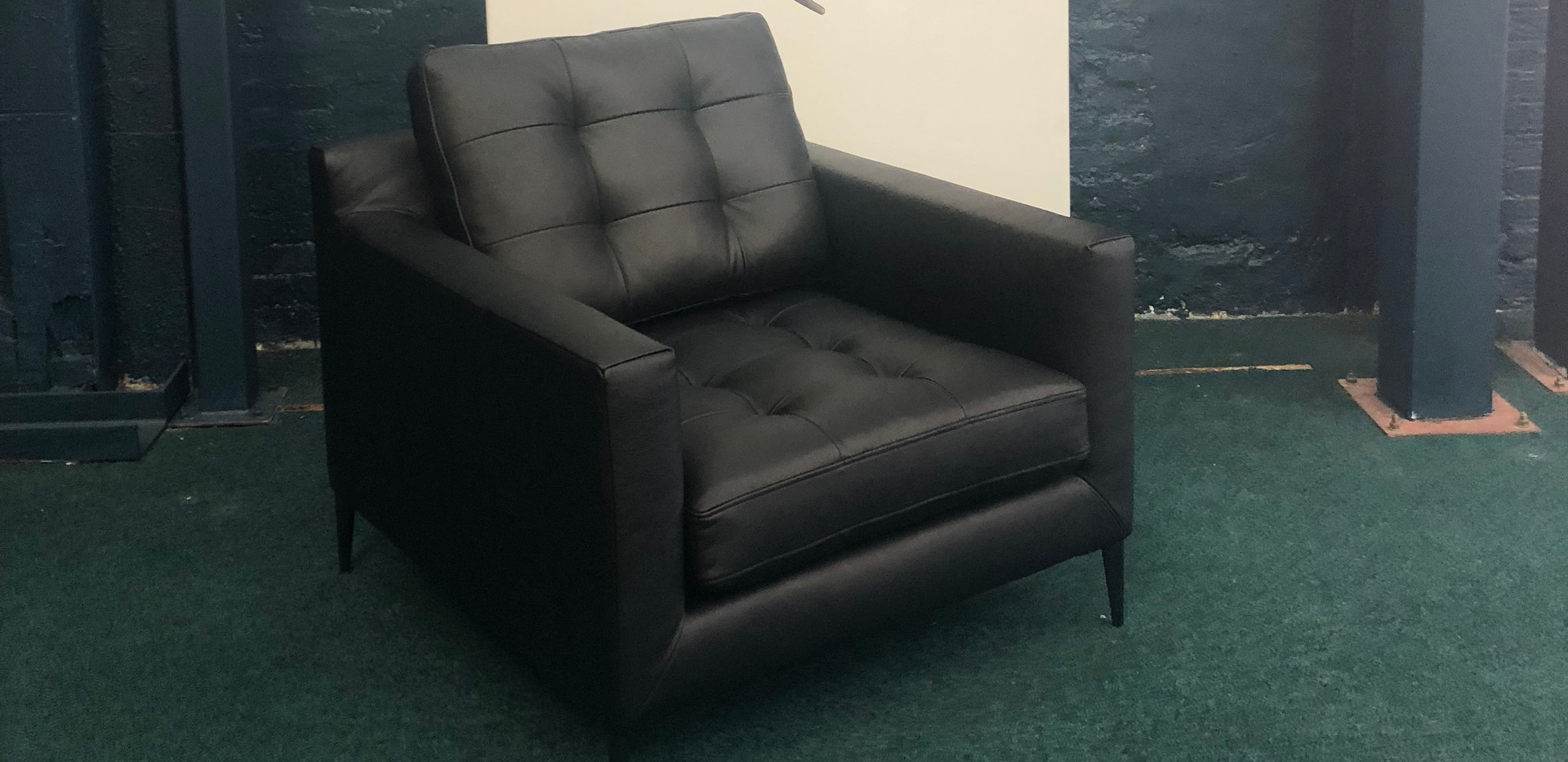 Draper Armchair Leather