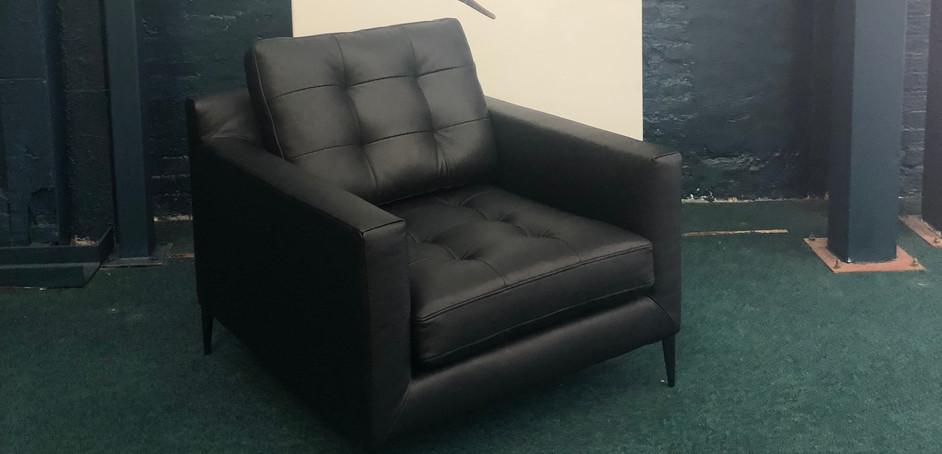 Draper Armchair Leather
