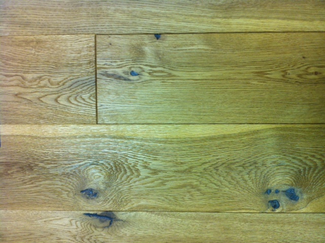 OAK RUSTIC BRUSHED & UV OILED 150