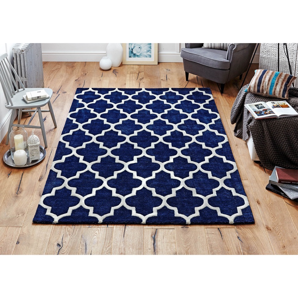 Arabesque Blue Roomshot