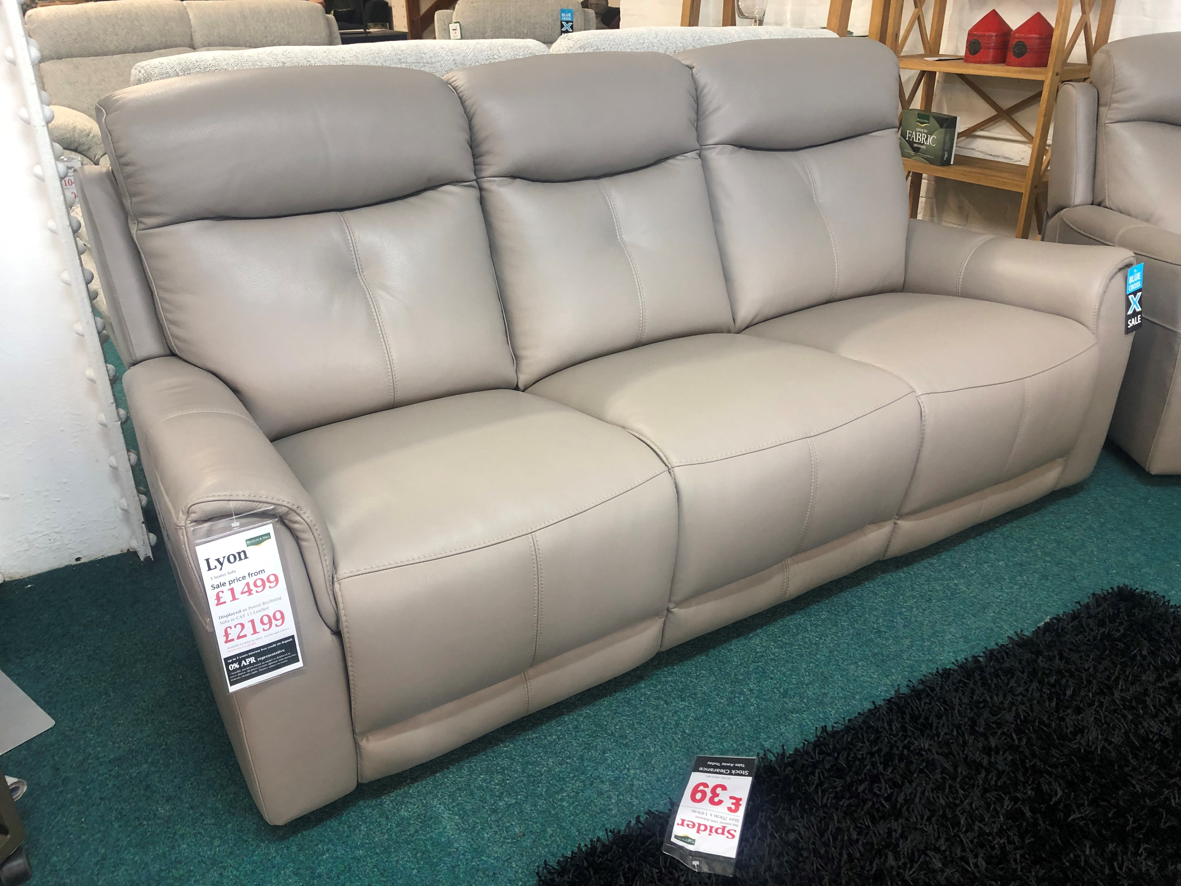 Lyon 3 Seater Sofa