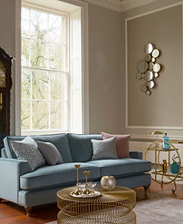 Hoxton Grand Sofa in Bracklyn Teal with