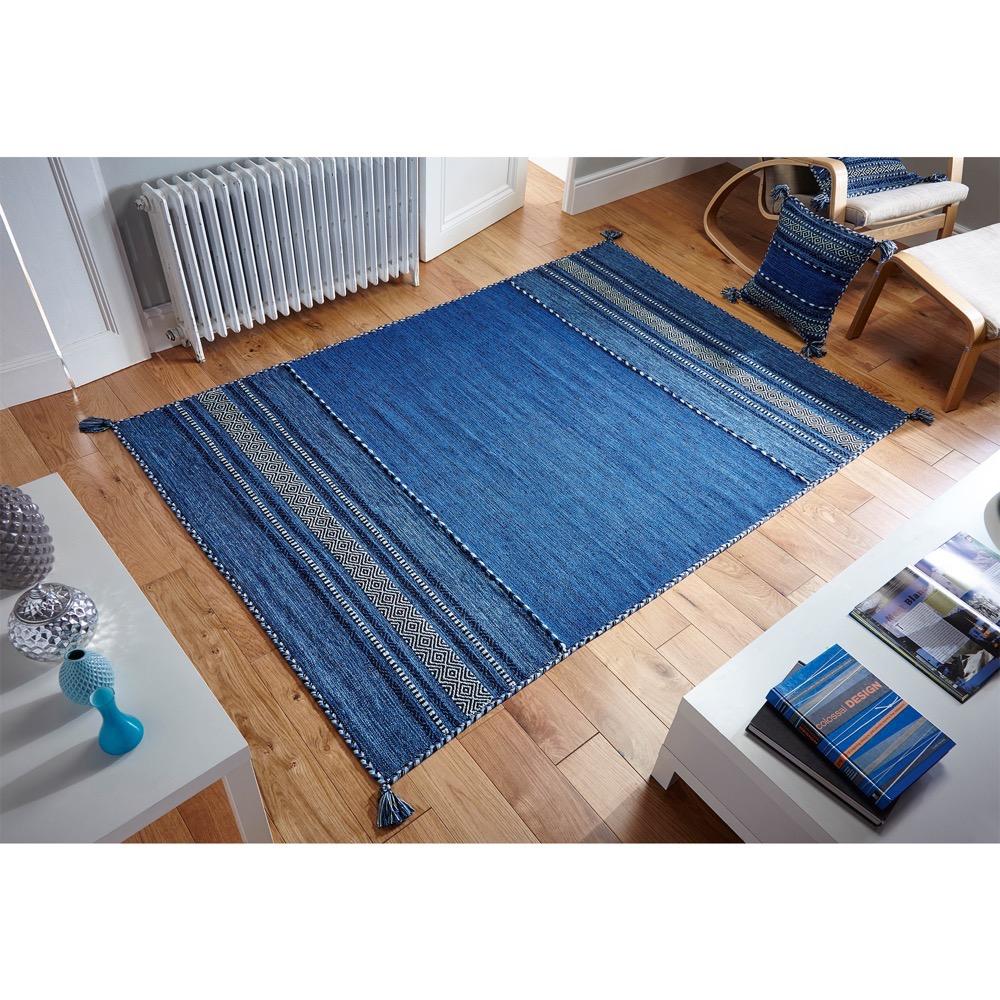 Kelim Blue Roomshot