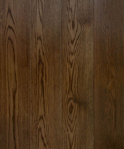 BLACK STAINED OAK BRUSHED & OILED