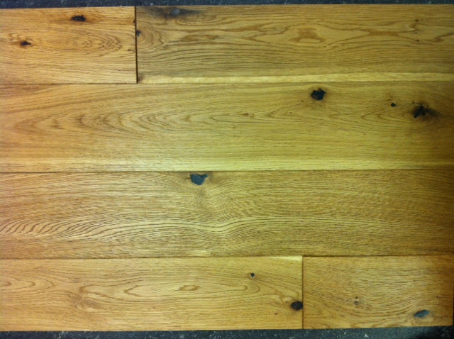 OAK RUSTIC BRUSHED & UV OILED 120