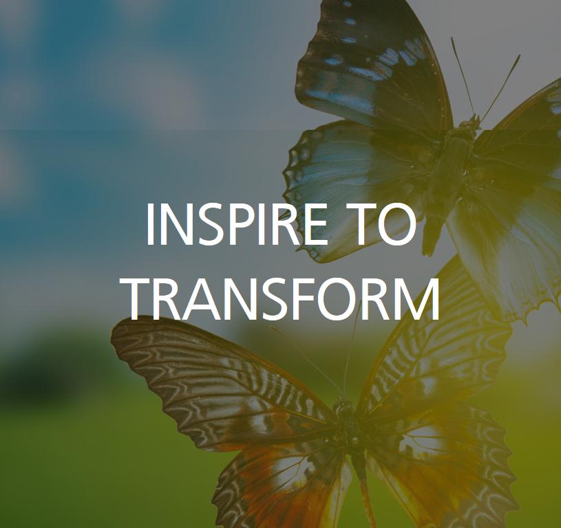 inspire to transform