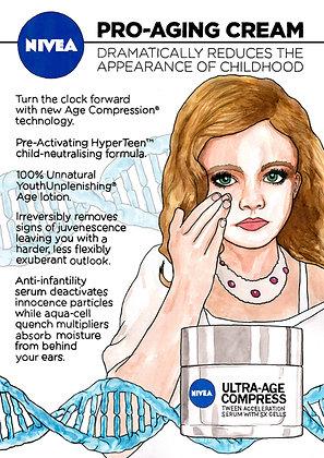 Nivea Pro-Ageing Cream - Poster
