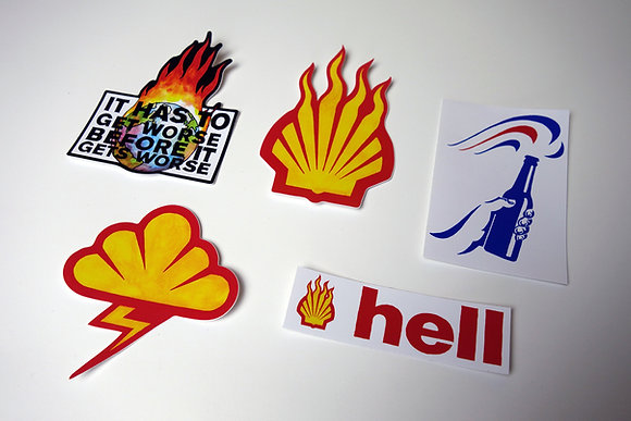 HELL Vinyl Sticker Set