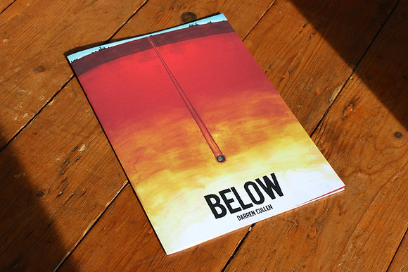 BELOW - a bleak sci-fi comic