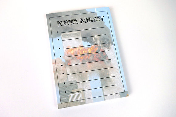 Never Forget - Memo Pad