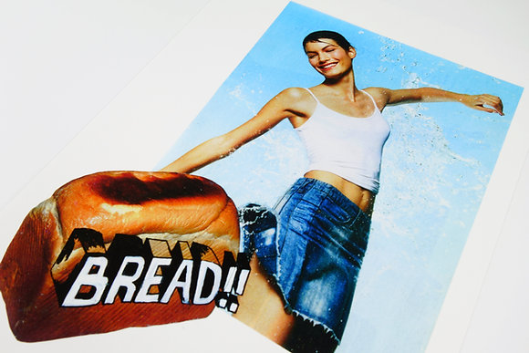 BREAD!! - Limited edition giclee print