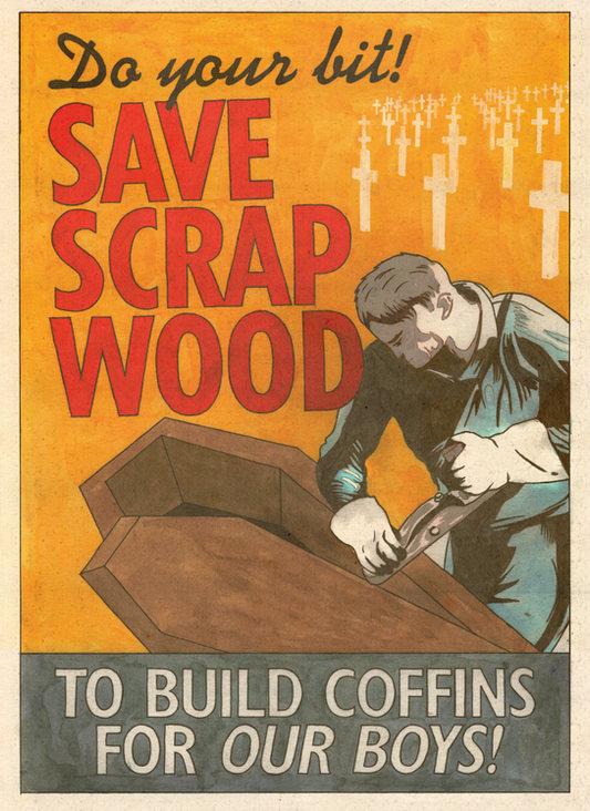 Save Scrap Wood (2021) - Darren Cullen