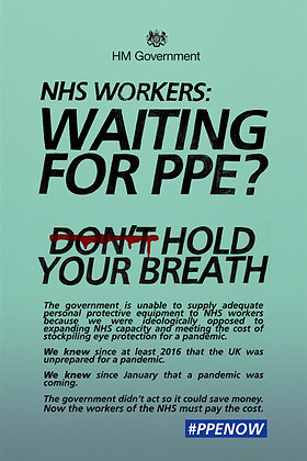 PPE NOW Poster