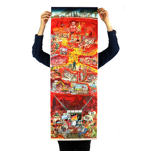Business Hell - Limited edition giclee print