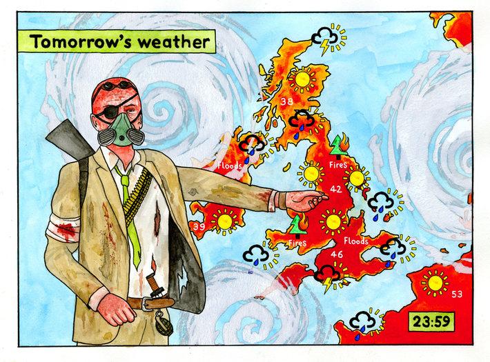 Tomorrow's Weather (2020) - Darren Cullen