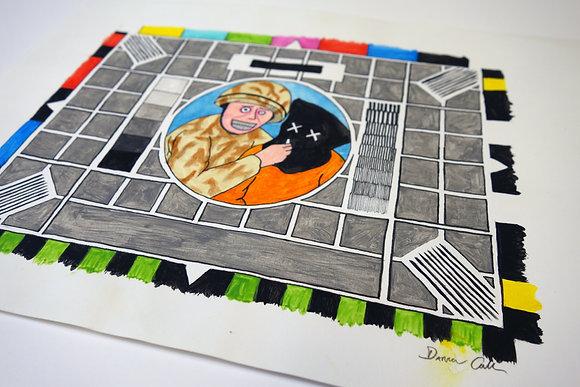 Test Card (2013) - Original Drawing