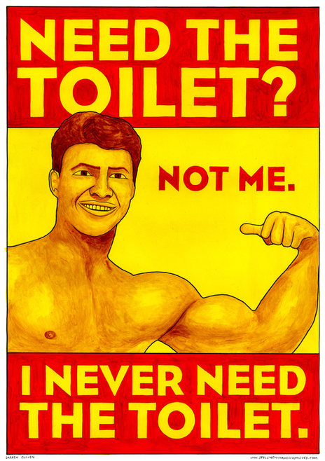Never Need The Toilet