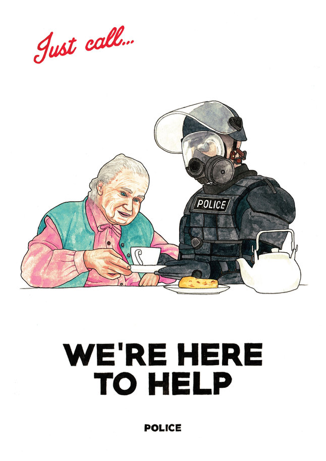 POLICE - We're Here To Help