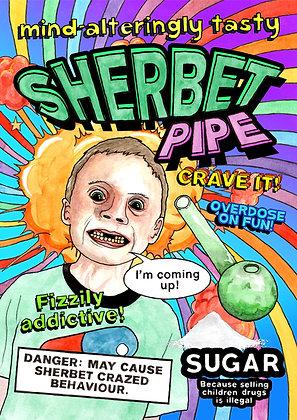 Sherbet Pipe - Poster