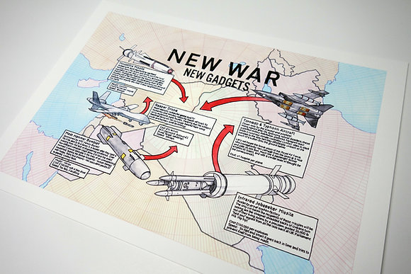 New War, New Gadgets - Limited edition giclee print