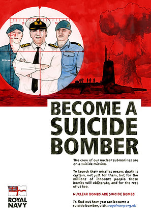Royal Navy: Suicide Bomber - Limited edition giclee print