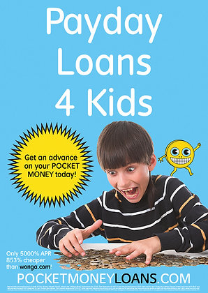 Pocket Money Loans - Poster