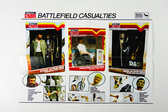 Action Man: Battlefield Casualties Poster (A3)