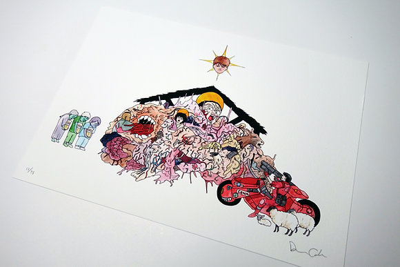 AKIRA Nativity - Limited edition giclee print
