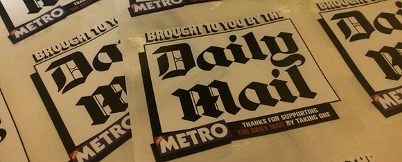10x Anti-Mail/Metro stickers (Cost Price)