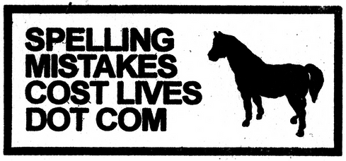 Spelling Mistakes Cost Lives Logo
