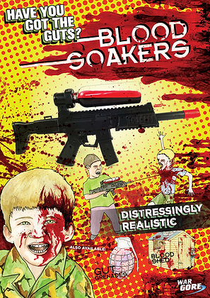 Blood Soakers - Poster