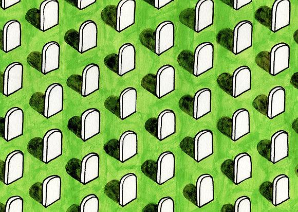 Military Graveyard wallpaper
