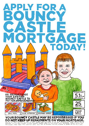 Bouncy Castle Mortgage - Poster