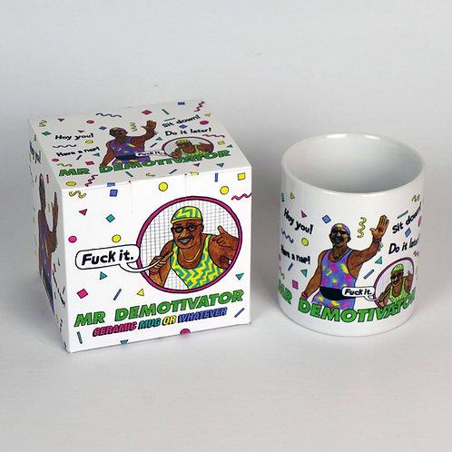 Mr Demotivator Mug and Gift Box