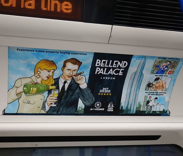 Bellend Palace._A property developer ad