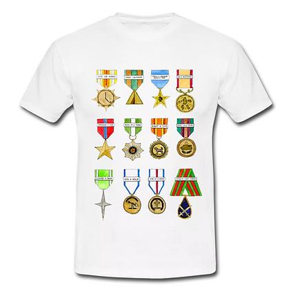 Shiny Shiny Medals - T-shirt