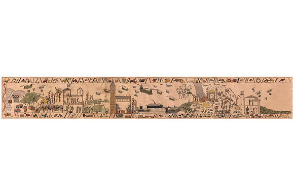Modern Bayeux Tapestry - Iraq War