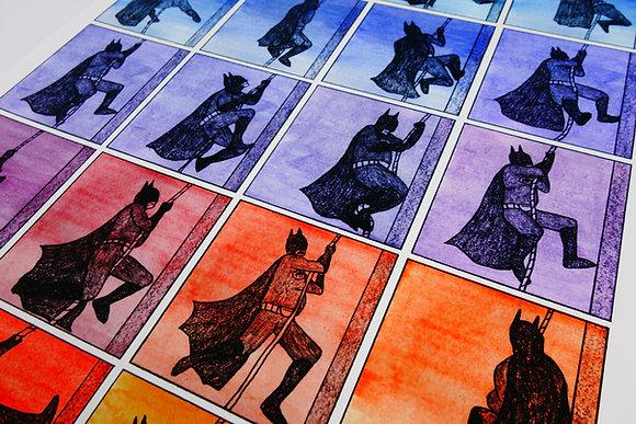 Batman Begins - Limited edition giclee print
