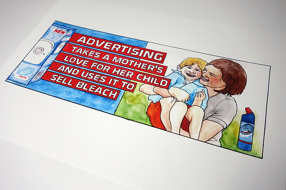 Advertising - Limited edition giclee print
