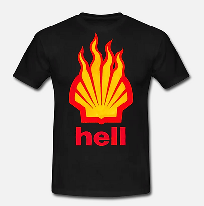 Black Hell T-shirt (Limited Edition Anti-Fracking Fundraiser)